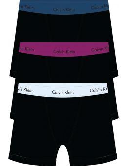 Calvin Klein 3-pack blauw, paars en witte band