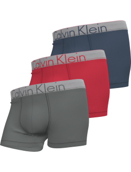 Calvin Klein 3 pack silver waist