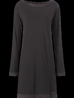 Calvin Klein Satin Nachthemd zwart