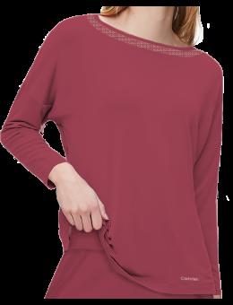 Calvin Klein Pyjama shirt Deep sea Rose