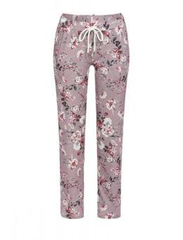 Ringella Pyjama broek Bloem oudroze 93%lyocell &%EA