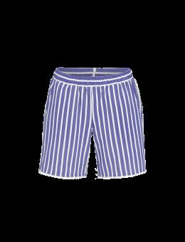 Ringella korte broek stripe blauw