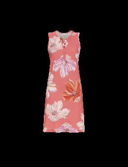 Ringella mouwloos nachthemd Flower Koraal