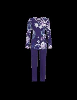 Ringella Pyjama met bloemenprint blauw