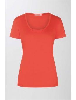 Mey Pyjama t-shirt korte mouw oranje