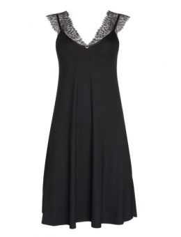 Lisca Rose nachthemd zwart