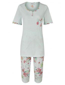 Ringella Pyjama 3/4 Broek Mint groen