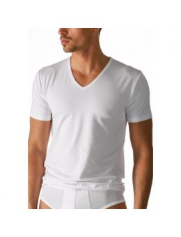 Mey V-neck shirt wit
