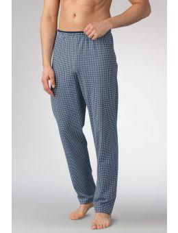 Mey Pyjama broek grijs/blauw