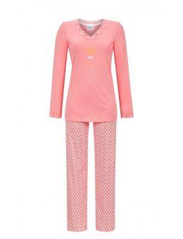 Ringella hart pyjama roze