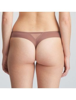 Marie Jo L'aventure Louie string Satin taupe