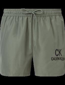 Calvin Klein zwemshort Stonewash green