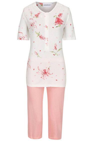 Ringella Pyjama Rode bloem