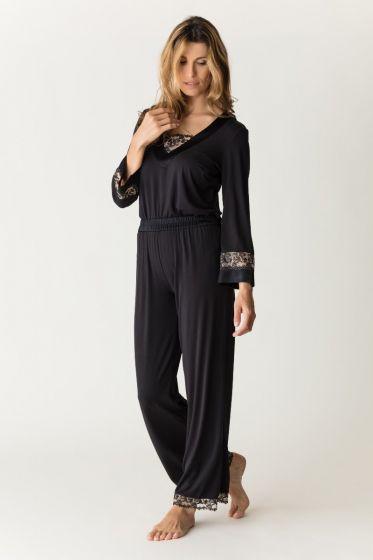 Soie belle homewear zwart