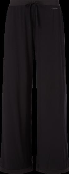Calvin Klein Satin Pyjama broek zwart