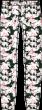 Calvin Klein pyjama broek bloem groen/roze