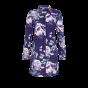 Ringella Nachthemd doorknoop Bloem blauw