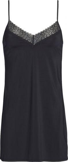 Calvin Klein sleepdress met kantje zwart